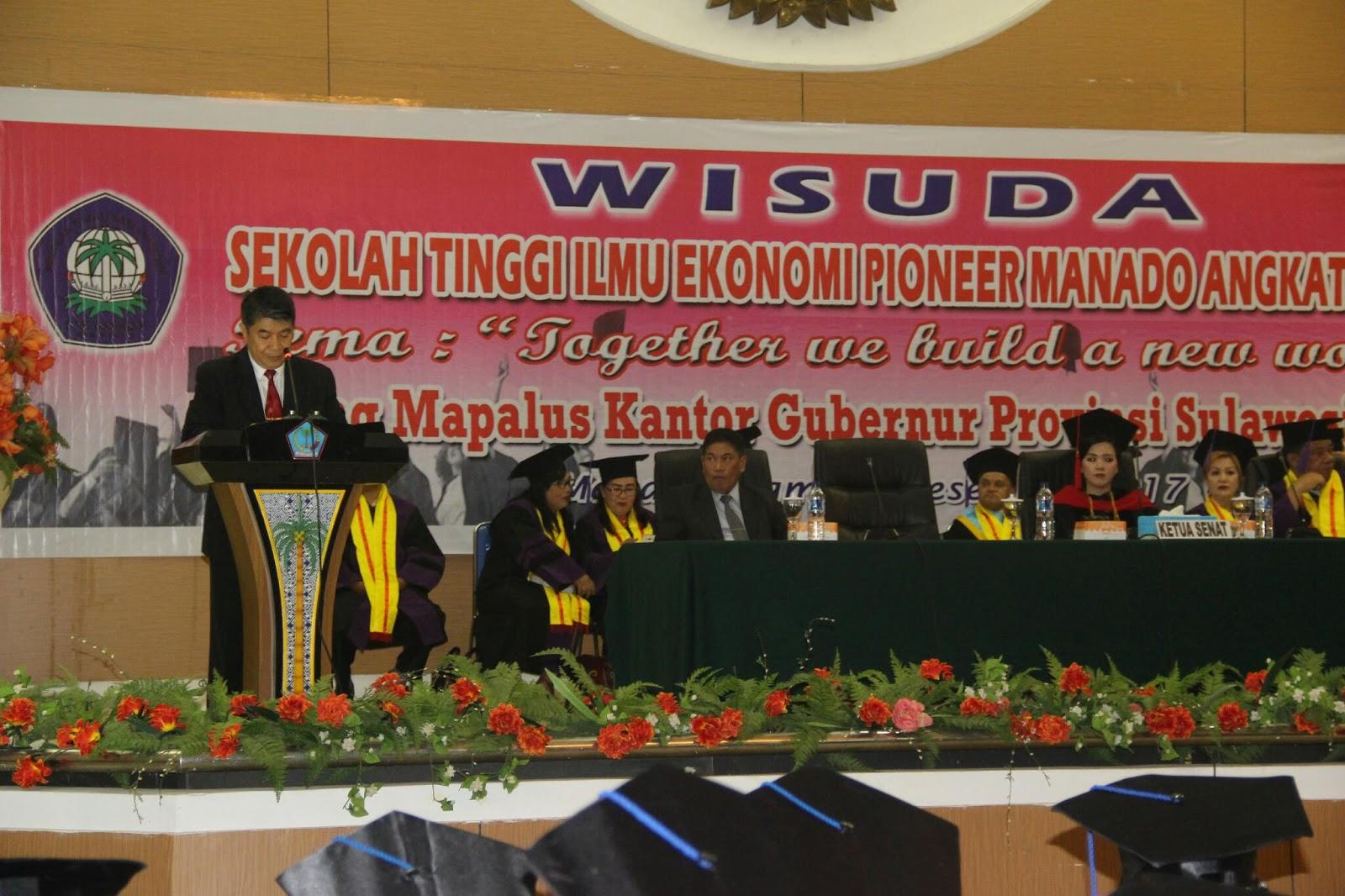 Gubernur Olly : Perguruan Tinggi Berperan Dalam Peningkatan Kualitas SDM Sulut