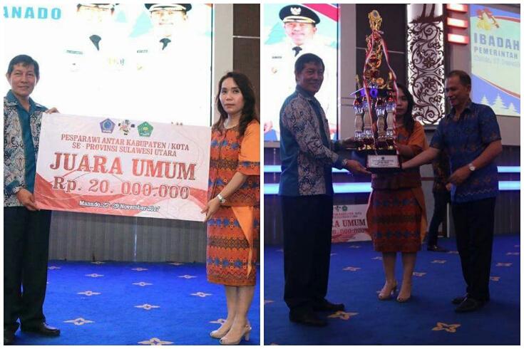 Ibadah Natal Pemkot Manado, Walikota GSVL Minta ASN Muliakan Tuhan Lewat Pekerjaan