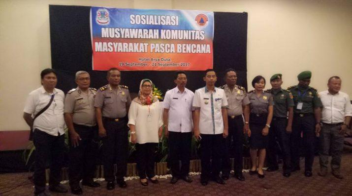 BPBD Gelar Sosialisasi Pada Komunitas Warga Pasca Bencana