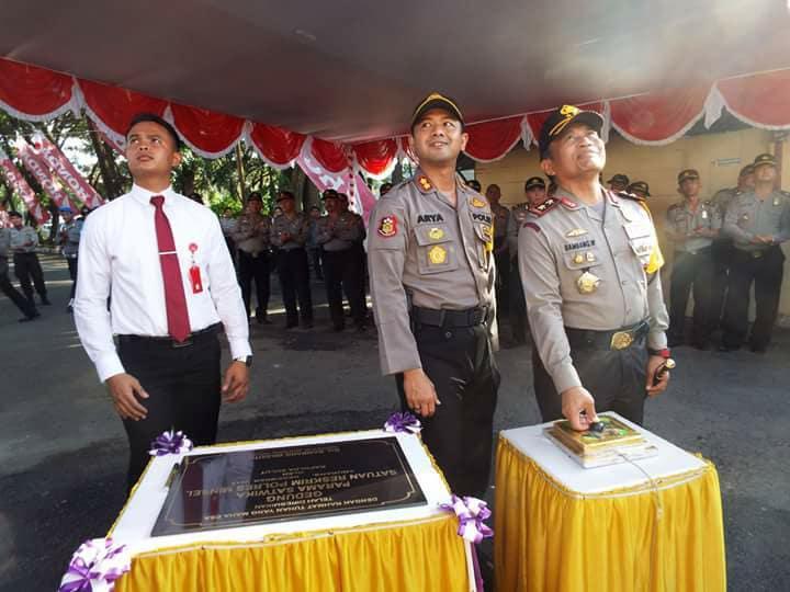 Kapolda Sulut Resmikan Gedung Reskrim Parama Satwika dan Taman Lalin Polres Minsel