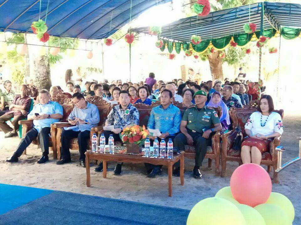 MOR Bastiaan Pimpin Safari Natal Pemkot Manado di Bunaken