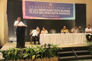 Wali Kota GSVL: Revisi RTRW Akan Jadi Acuan Pembangunan di Manado
