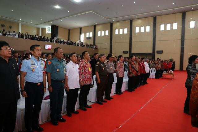Dibuka Presiden Jokowi, Olly : Kongres GMNI ke-20 Momentum Sejarah
