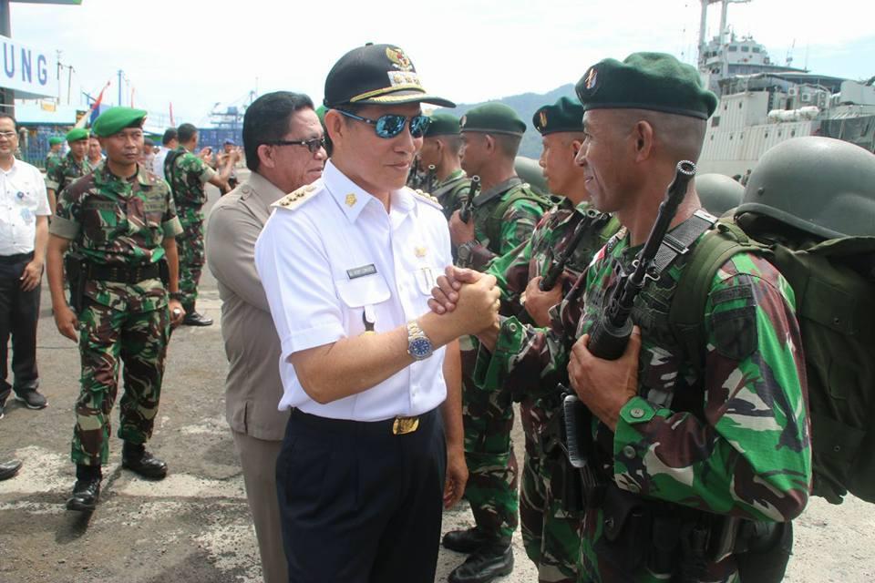 Walikota GSVL : TNI Ikut Berperan Ciptakan Manado Kota Toleran