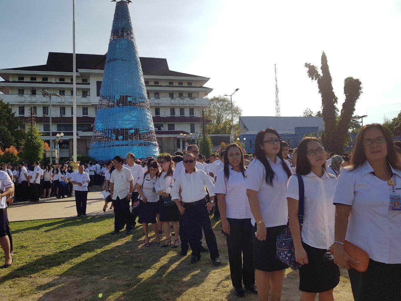 Pasca Cuti Bersama, ASN dan THL Pemkot Manado Wajib Ikut Apel Kerja Tahun 2018