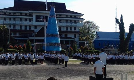 Pimpin Apel Kerja Perdana 2018, Ini Harapan Walikota GSVL bagi ASN dan THL Pemkot Manado