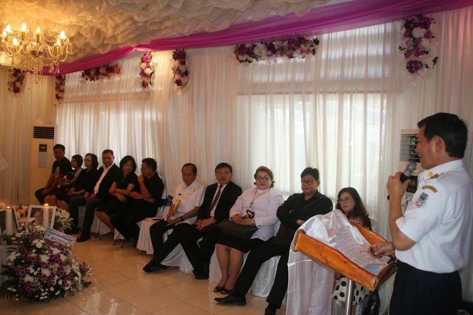 Walikota Manado Melayat di Rumah Duka Mertua Wawali Bitung