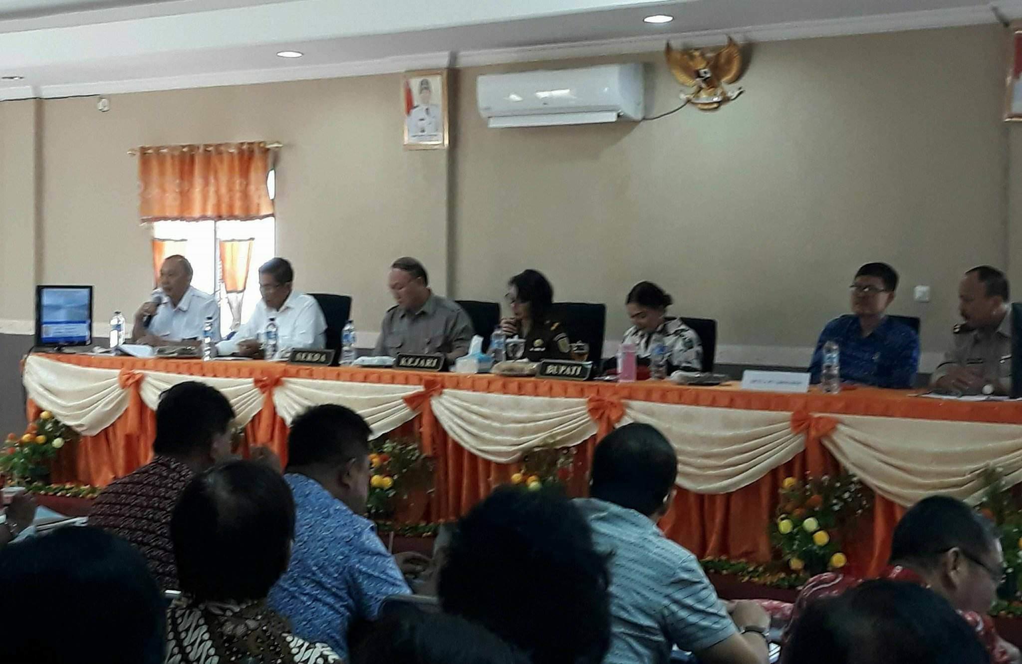 Penyelesaian Proyek Jalan Tol, Bupati VAP Fasilitasi Pertemuan Pemilik Lahan Dan BPJN