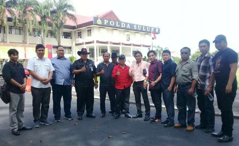 Gabungan Ormas Dan LSM Minut Resmi Laporkan HJ ke Polda Sulut