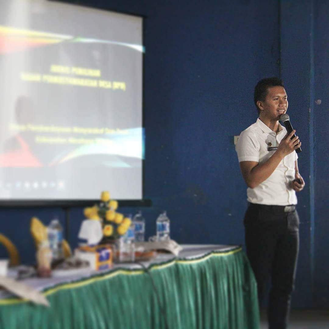 Dinas PMD Minsel Gelar Sosialisasi Penyampaian Pagu ADD dan Dandes