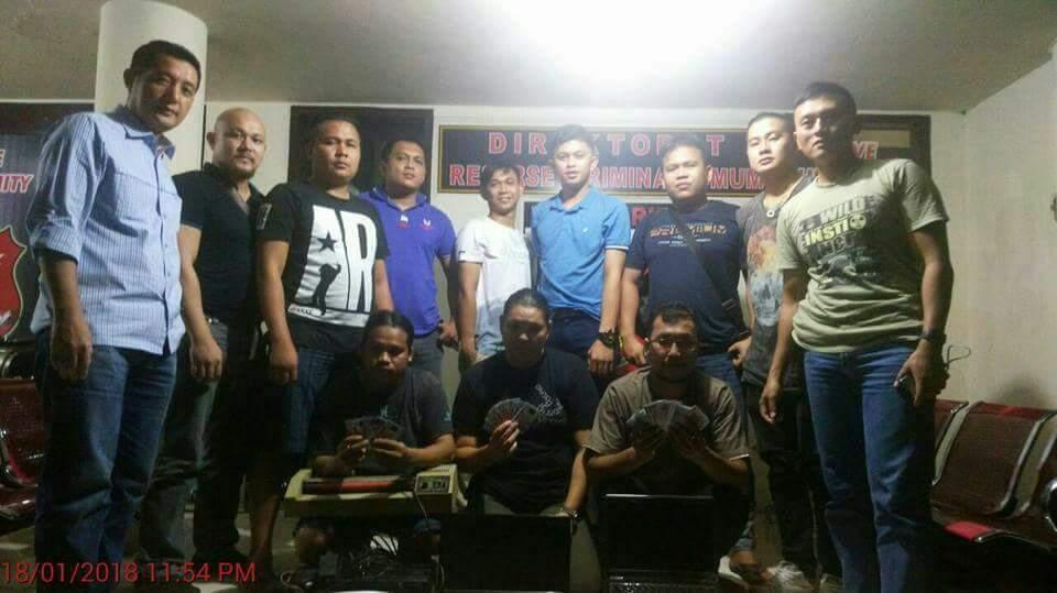 Tim Manguni Polda Sulut amankan Tiga Pelaku Pembuat Dokumen Palsu