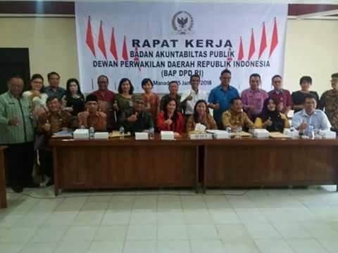 PD Pasar Manado Penuhi Panggilan BAP DPD RI