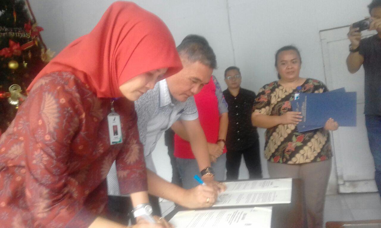 Tunjang Program Pemkot Manado, PD Pasar Deklarasikan MoU Bersama BPOM