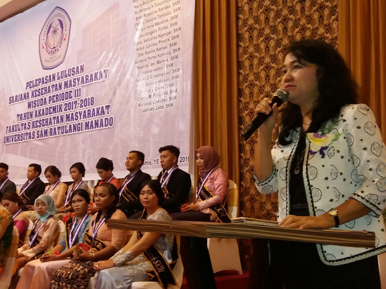 """Pencekal"" Grace Kandou Pada Suksesi Rektor Unsrat Bakal Berurusan Dengan Hukum"
