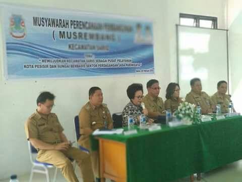 Musrembang Kecamatan Sario, Infrastruktur Dan Masalah Banjir Jadi Skala Prioritas