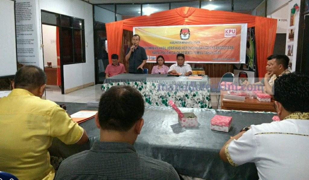 11 Partai Di Minut Memenuhi Syarat, Hanura Tunggu Perbaikan