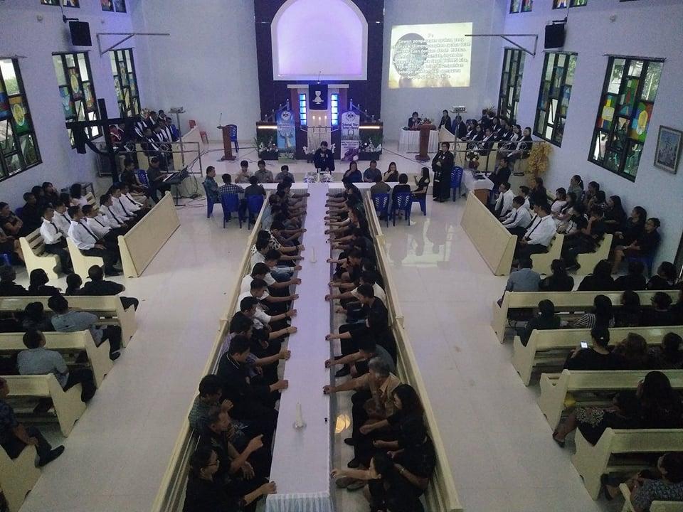 Khusuk, Perjamuan Kudus di GMIM Victory Minanga Indah