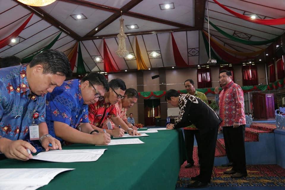 Tantandatangani Perjanjian Kerja, Ini Komitmen Perangkat Daerah Kota Manado