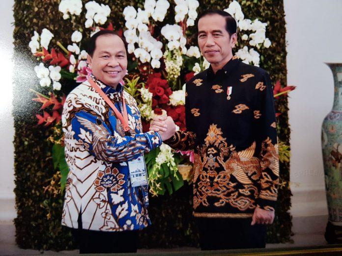 Bersama Walikota se-Indonesia, Lomban Bertemu Jokowi