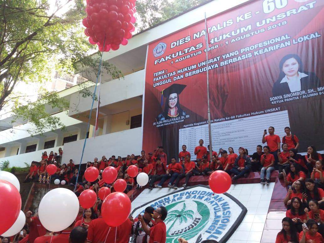 Dies Natalis, Fakultas Hukum Unsrat Fakultas Terbaik di Ujung Indonesia Timur