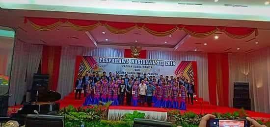 Mitra Male Choir Dapat Medali Gold