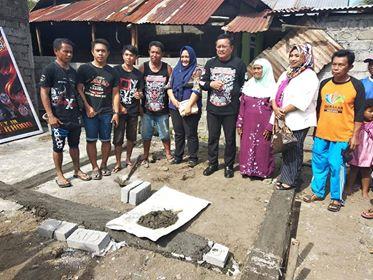 """""""Bedah Rumah"""", Wakil Wali Kota Bitung Apresiasi VIC Indonesia"""