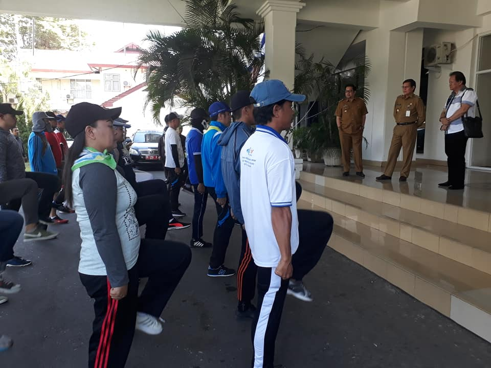 Walikota GSVL Apresiasi Manado Raih Juara Lomba Beris Berbaris