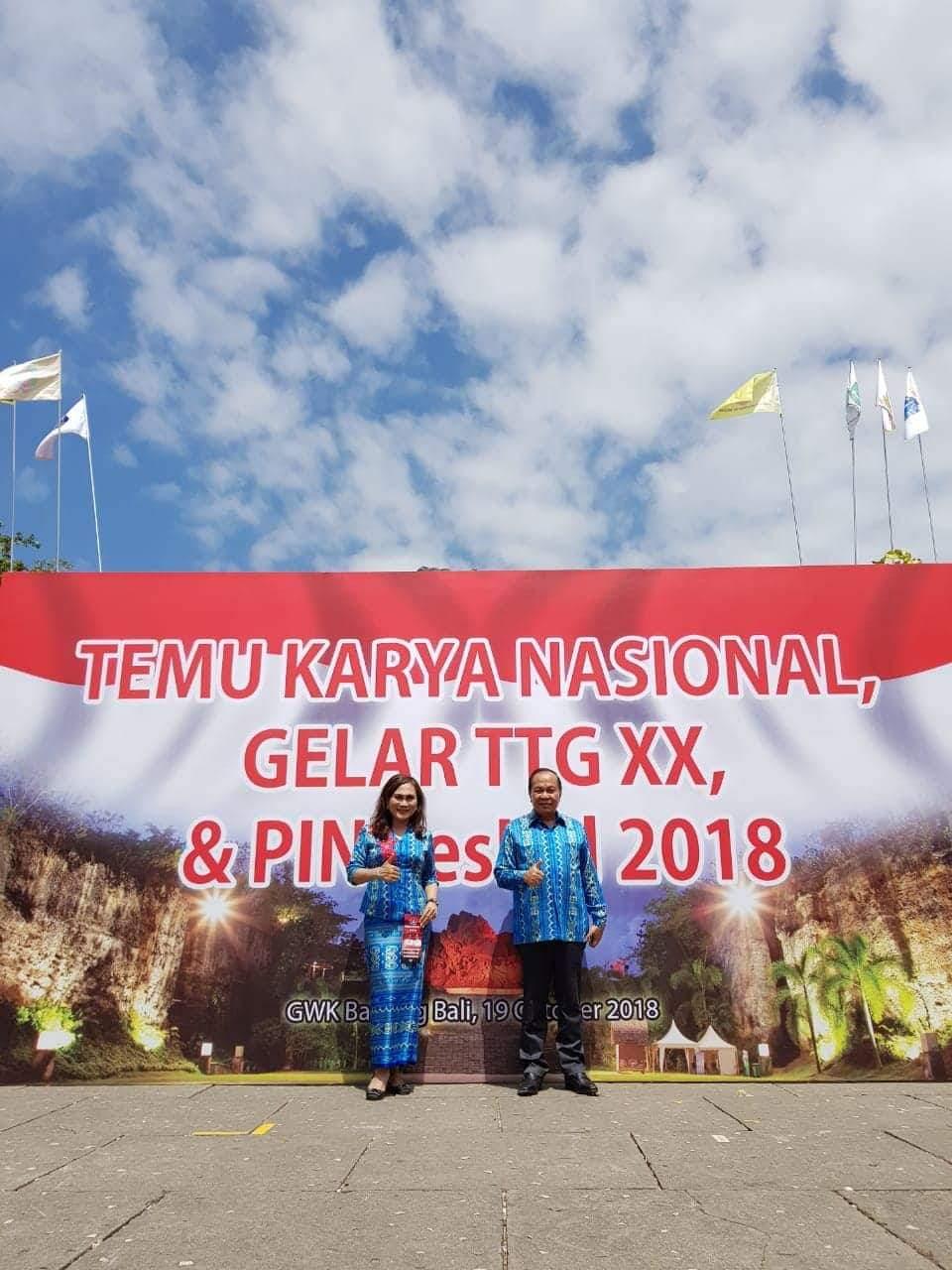 Dibuka Presiden, Lomban Hadiri TKN, PINDesKel dan Gelar Teknologi Tepat Guna XX 2018