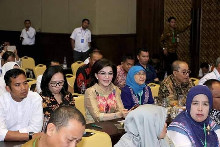 Hadiri Rakorev P3MD di Jakarta, Bupati Minsel Minta Kumtua Semangat Dalam Membangun Desa