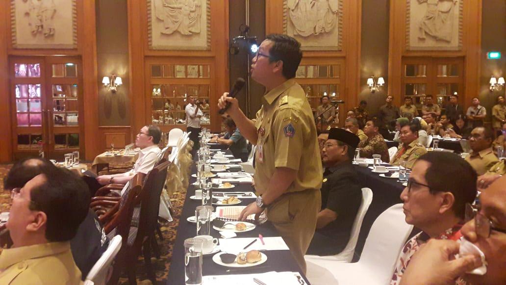 Steven Kandouw Sampaikan Masalah Perbatasan Sulut-Philipina Kepada Dua Menteri