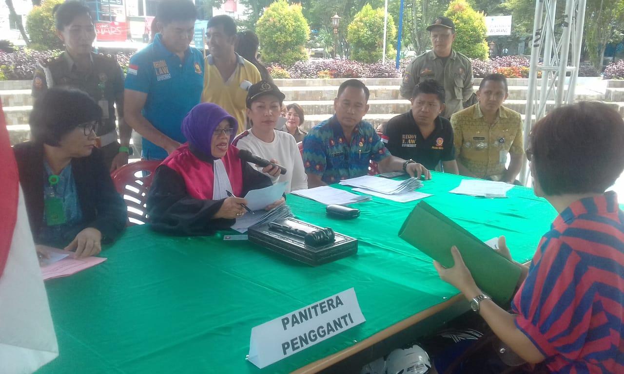 Awal Tahun 2019 Pemkot Manado Jaring 52 Orang Dalam OTT Perda Sampah Dan Trantib