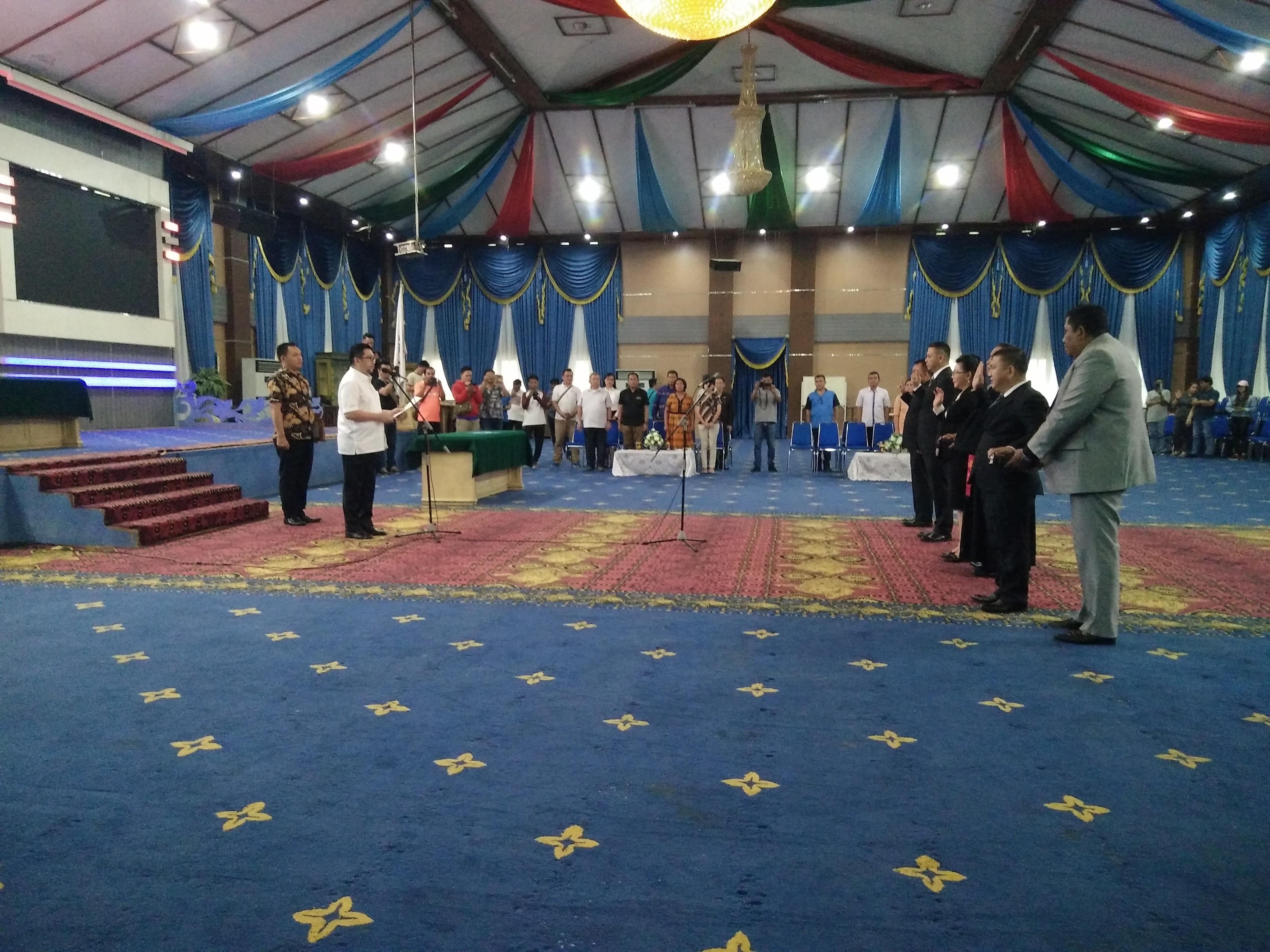 Reposisi Pejabat Eselon II, Wawali Mor Ingatkan Pesan Walikota Manado