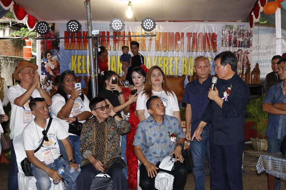 Karnaval Figura Tradisi Tahunan Warga Mahakeret Barat, GSVL: Jadikan Calendar of Tourism