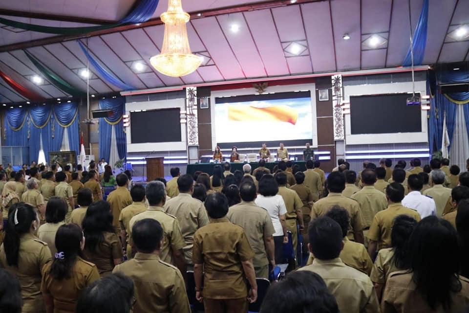 Selarasakan Program 2019, GSVL-MOR Kumpul Pejabat Pemkot Manado