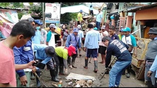 Pemulihan Pasca Bencana, GSVL-MOR : Stop Buang Sampah Sembarangan