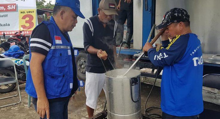 Dapur Umum Pemkot Manado Salurkan Makanan Untuk Korban Bencana