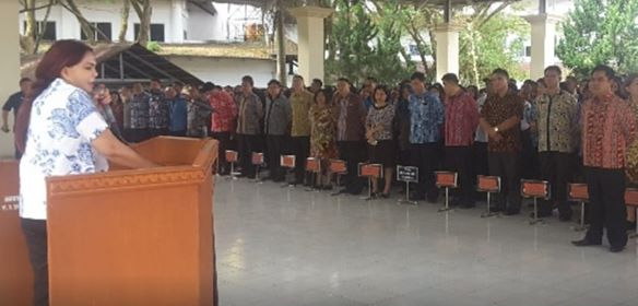 Pimpin Apel Perdana, Bupati Panambunan : Bekerja Mengedepankan Kepentingan Masyarakat