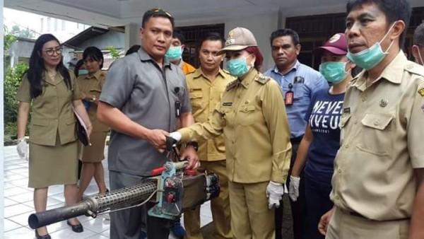 Bupati Panambunan Kampanyekan Pemberantasan Penyebaran Virus Demam Berdarah