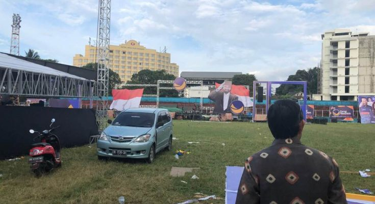 Rapat Umum Partai NasDem di Manado, GSVL Persiapkan Kedatangan Surya Paloh