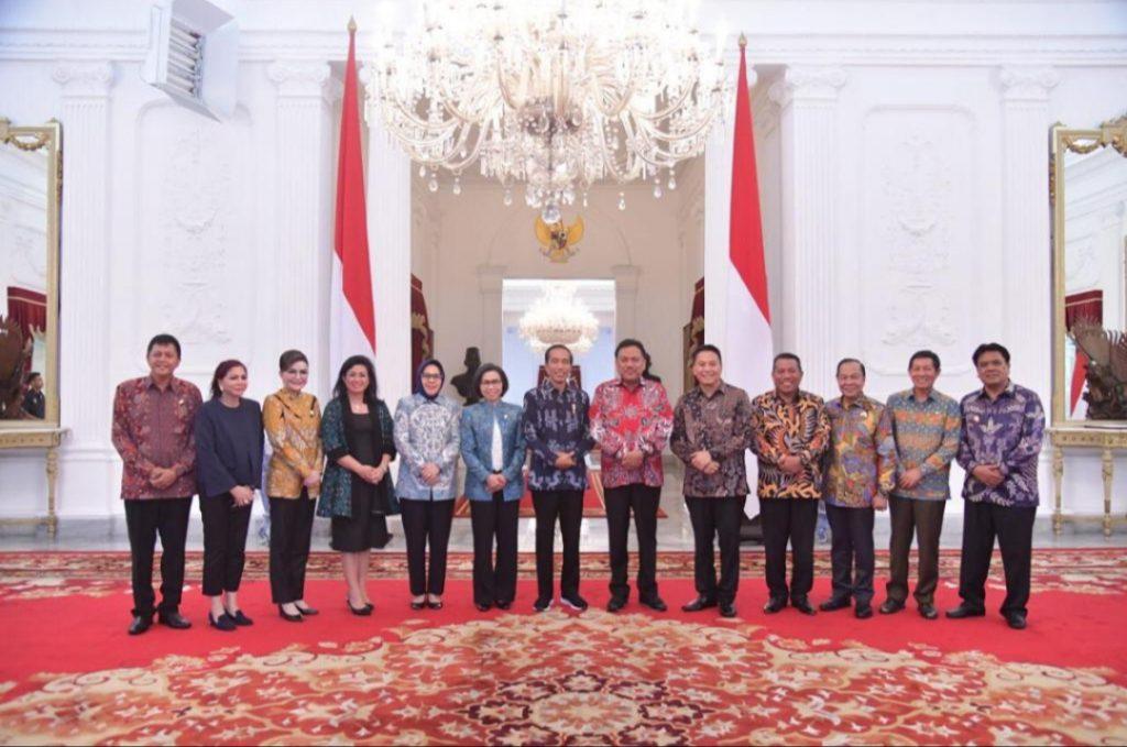 Lewat Olly, Jokowi Sampaikan Terima Kasih Pemilu di Sulut Sukses