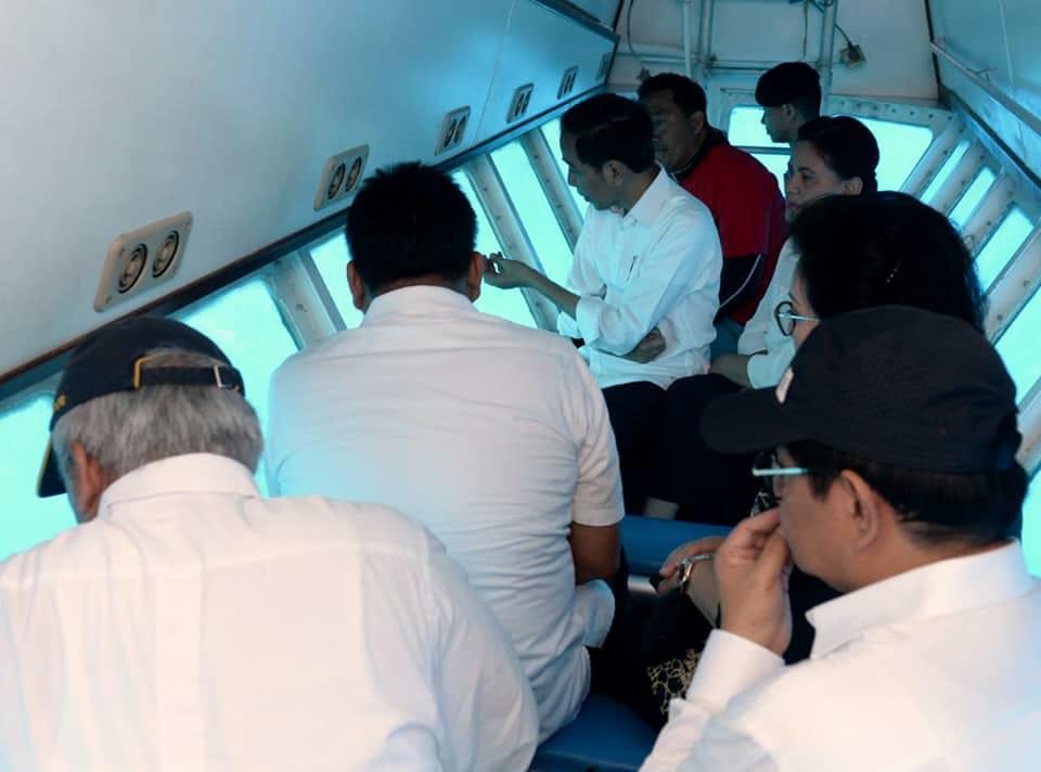 Jokowi Tinjau Distinasi Wisata Pulau Bunaken