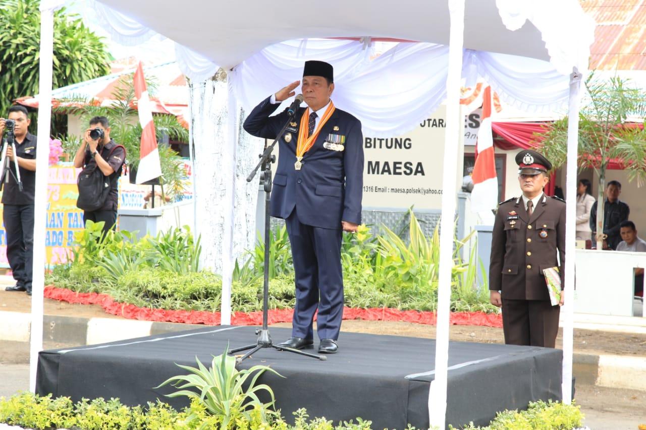 Wali Kota Bitung Irup Peringatan HUT ke-73 Bhayangkara
