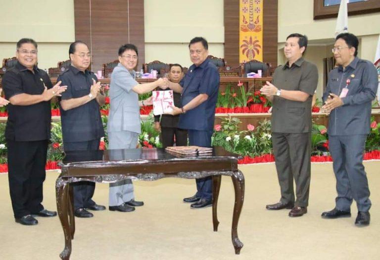 DPRD Sepakati APBD-P Sulut 2019