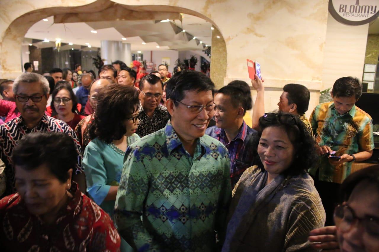 Malam Baku Dapa Kawanua Semarang, GSVL : 'Mari Jo Bekeng Rame' Manado Fiesta 2019
