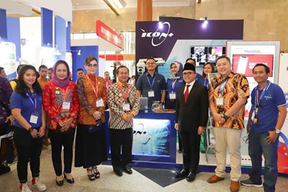 Bupati Minsel Hadiri Indonesia International Smart City Expo