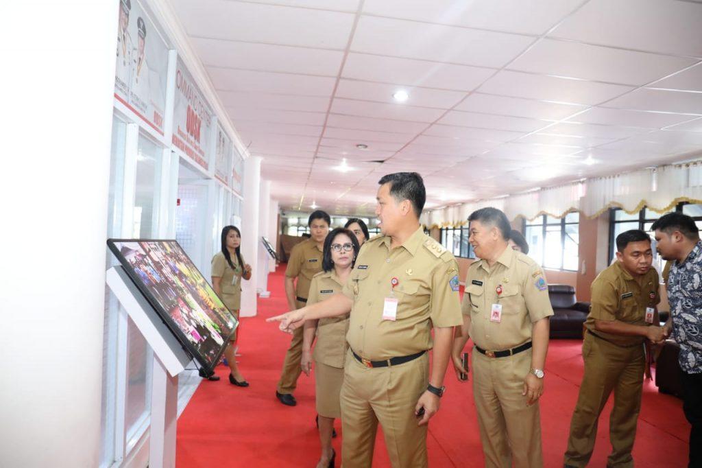 Command Center Tak Optimal, Kandouw Sidak Dinas Kominfo Sulut