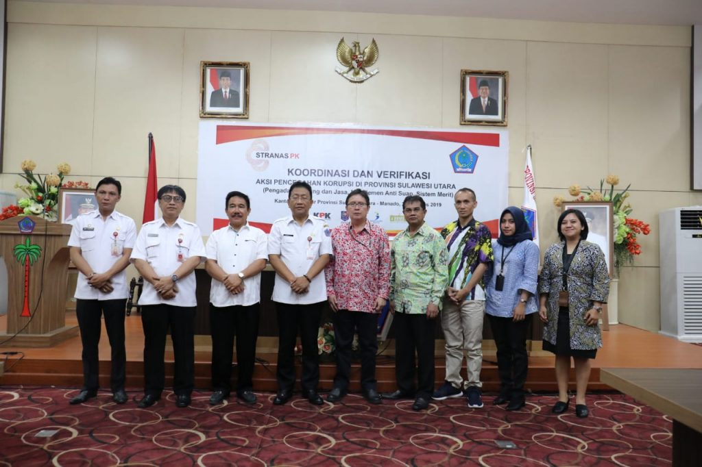 Cegah Suap dan Korupsi, KPK Monitor Pemprov Sulut