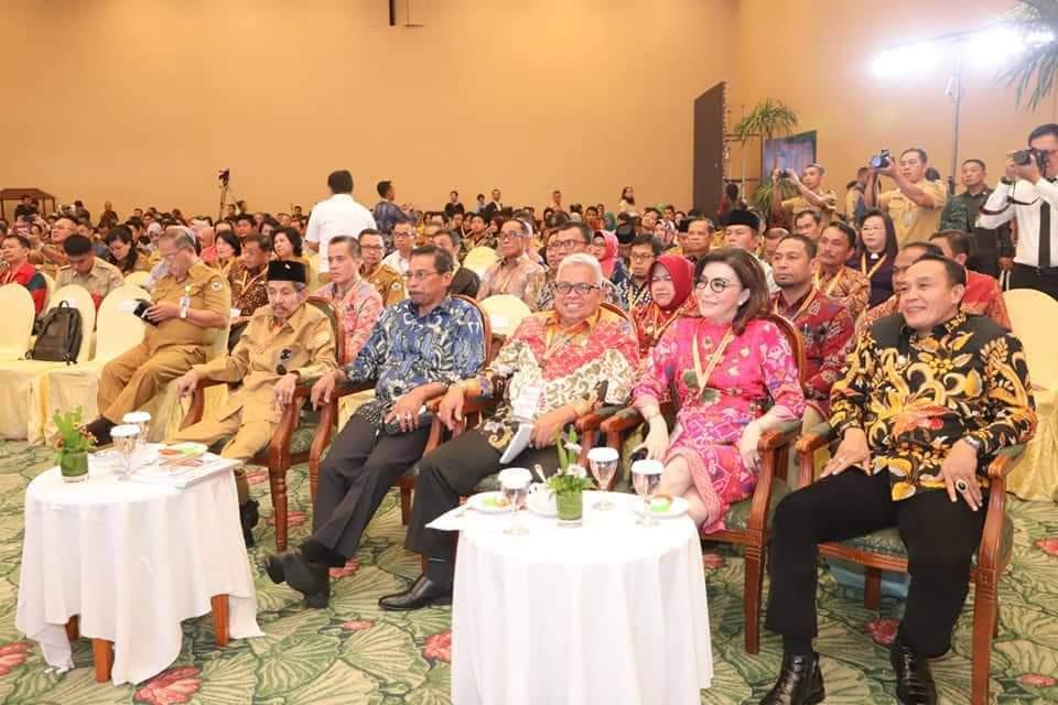 Bupati Minsel Hadiri Acara Konsultasi RPJMN 2020-2024 di Manado