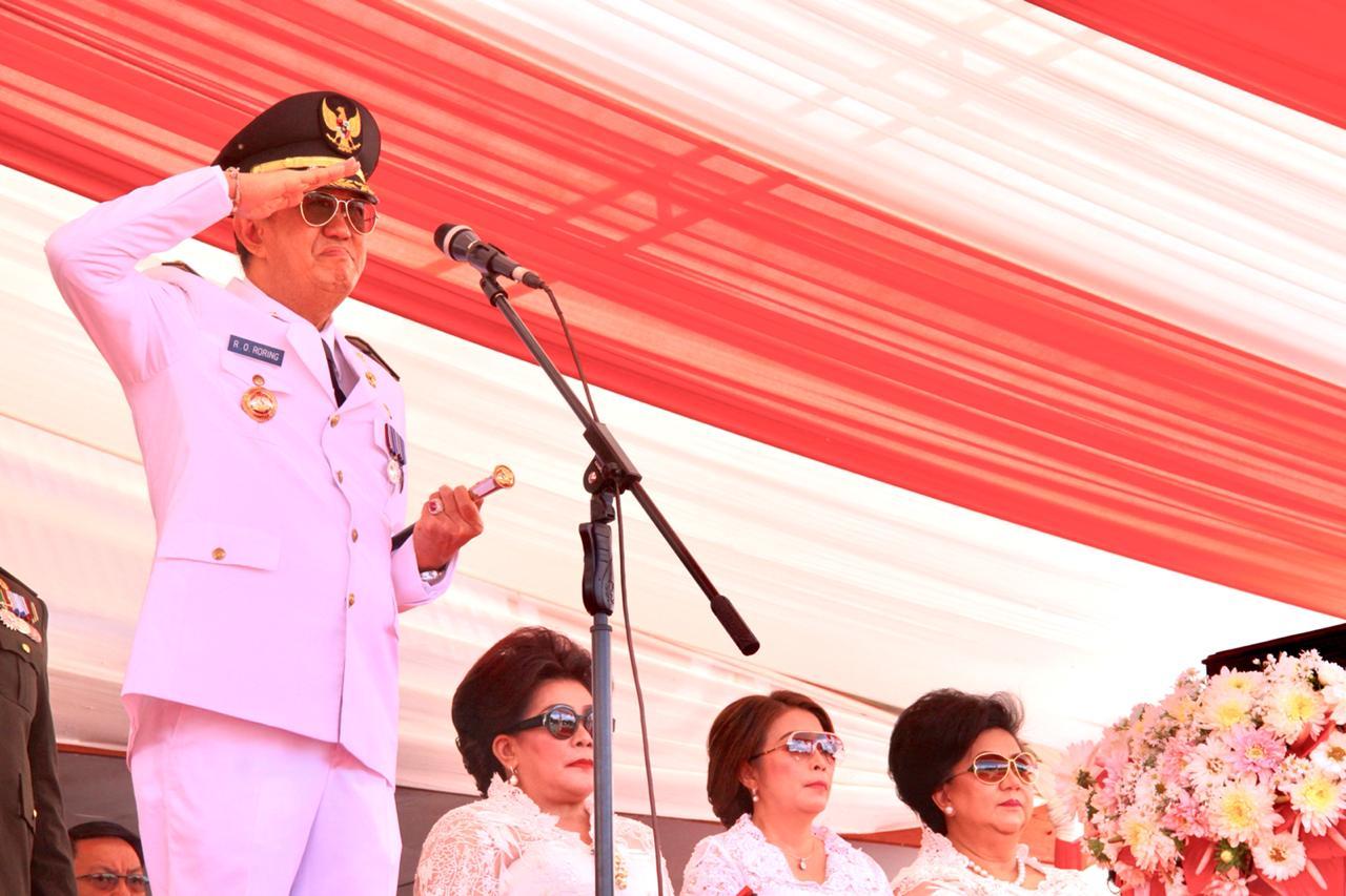 Rayakan HUT RI Ke-74, Semangat Kemerdekaan Bergelora di Minahasa