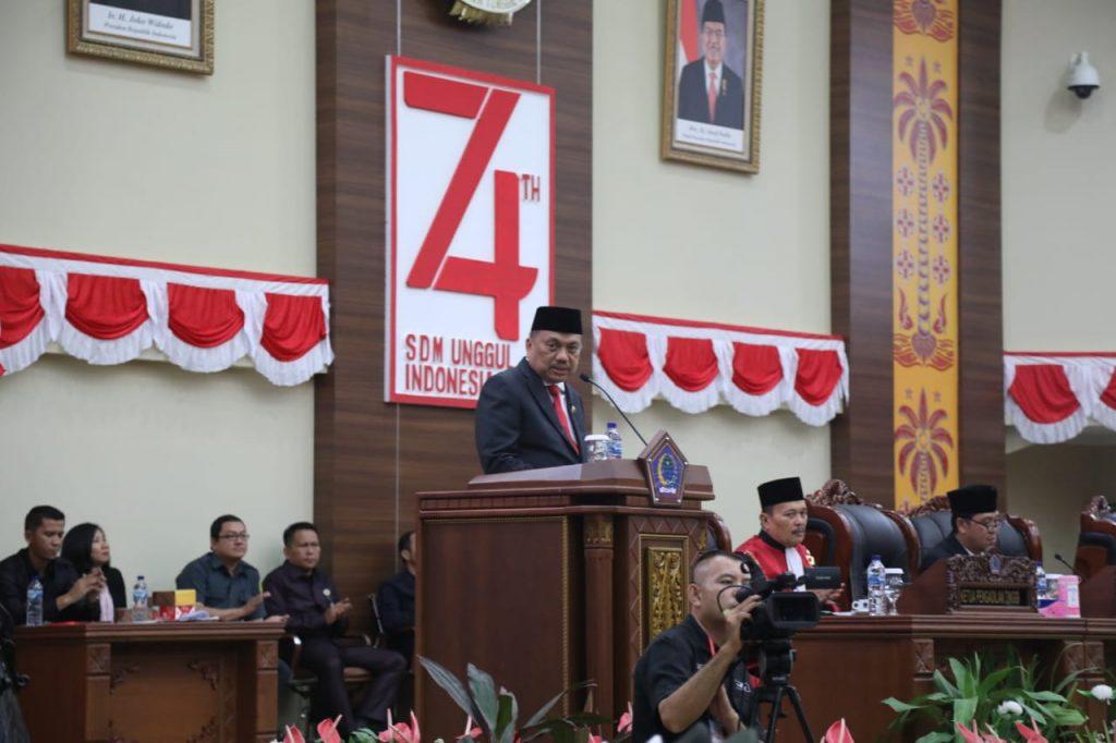 45 Anggota DPRD Sulut Resmi Dilantik, Ini Permintaan Olly Dondokambey